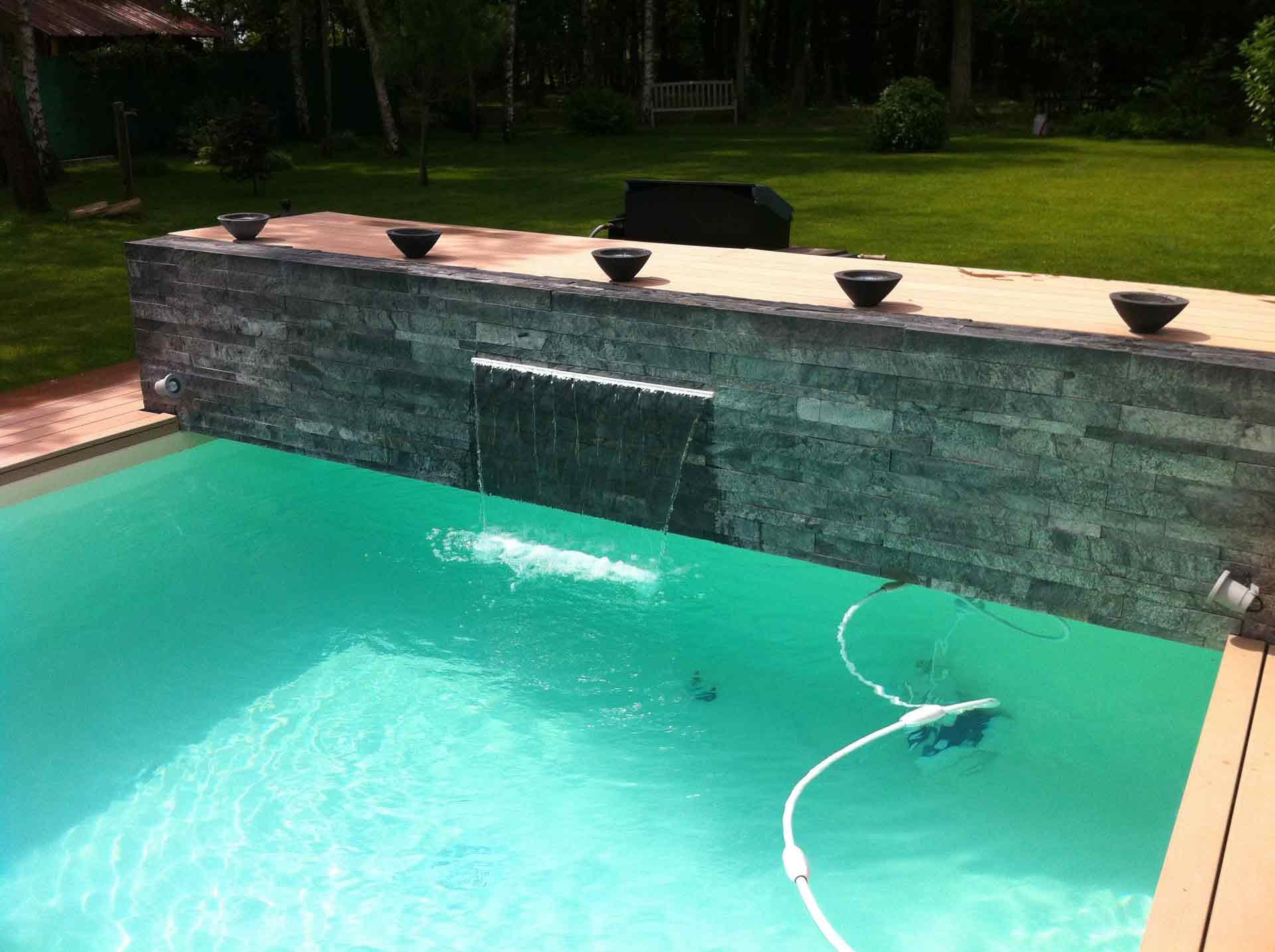 Conception de piscines saint pryv saint mesmin vers orl ans 45 - Piscine couverte maison orleans ...